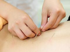 腰痛・ギックリ腰の施術